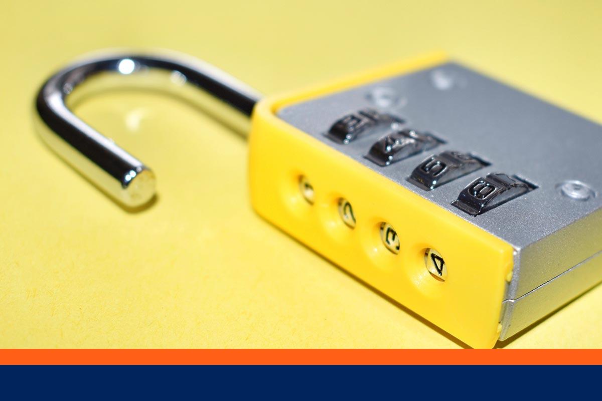 Comment changer le code d'un cadenas ?